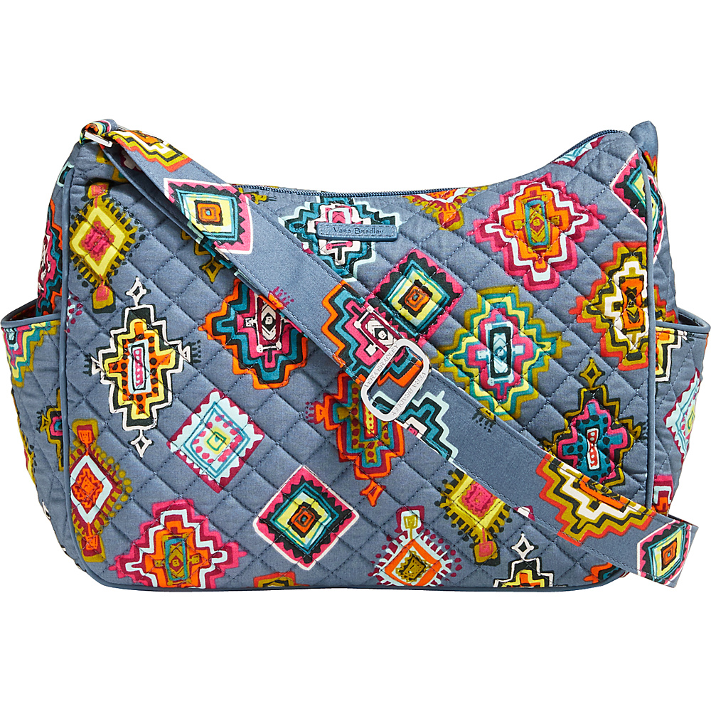 Vera Bradley On the Go Crossbody Painted Medallions - Vera Bradley Fabric Handbags - Handbags, Fabric Handbags