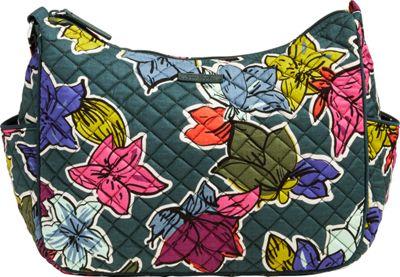 Vera Bradley On the Go Crossbody Falling Flowers - Vera Bradley Fabric Handbags