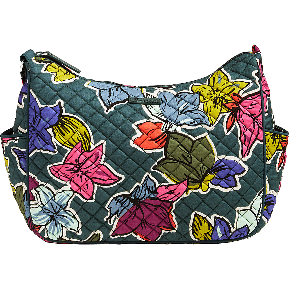 Vera Bradley On the Go Crossbody Falling Flowers - Vera Bradley Fabric Handbags - Handbags, Fabric Handbags