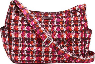 Vera Bradley On the Go Crossbody Houndstooth Tweed - Vera Bradley Fabric Handbags