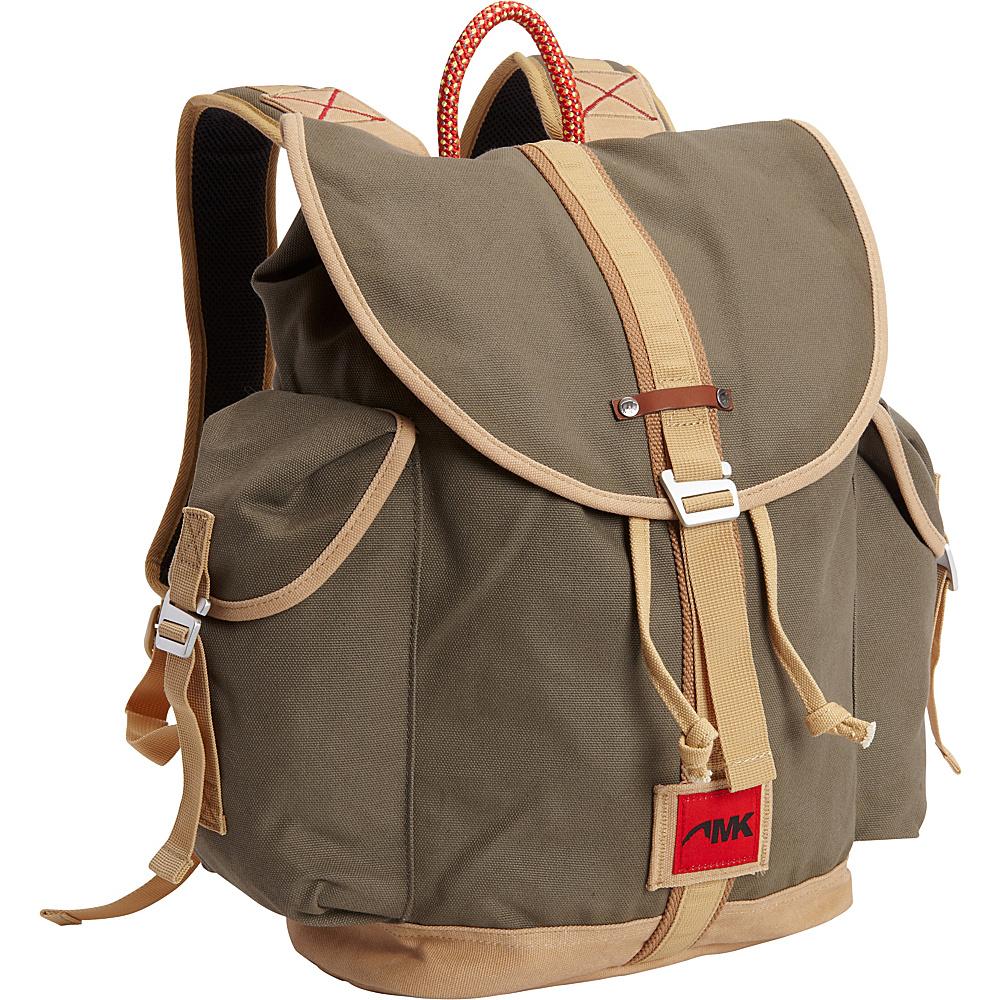Mountain Khakis Rucksack Bag Dark Olive - Mountain Khakis Everyday Backpacks - Backpacks, Everyday Backpacks