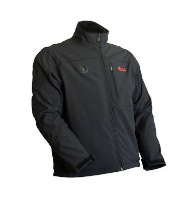 My Core Control Womens Heated Softshell Jacket XL - Black - My Core Control Women's Apparel