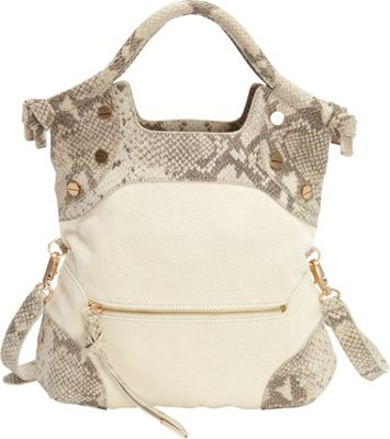 Foley + Corinna Cerberus Lady Tote Crush Snake - Foley + Corinna Designer Handbags