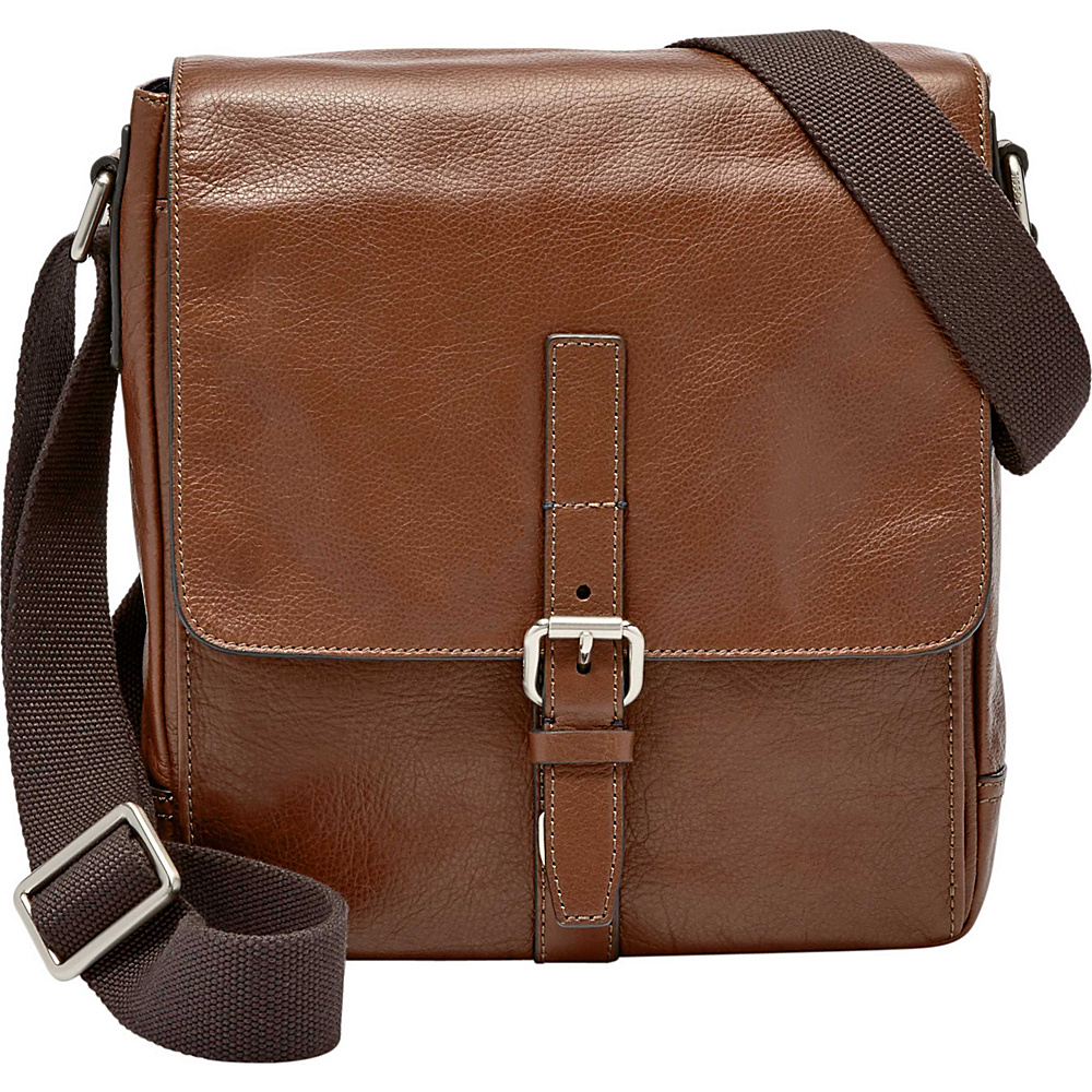 Fossil Davis NS City Messenger Cognac - Fossil Messenger Bags - Work Bags & Briefcases, Messenger Bags