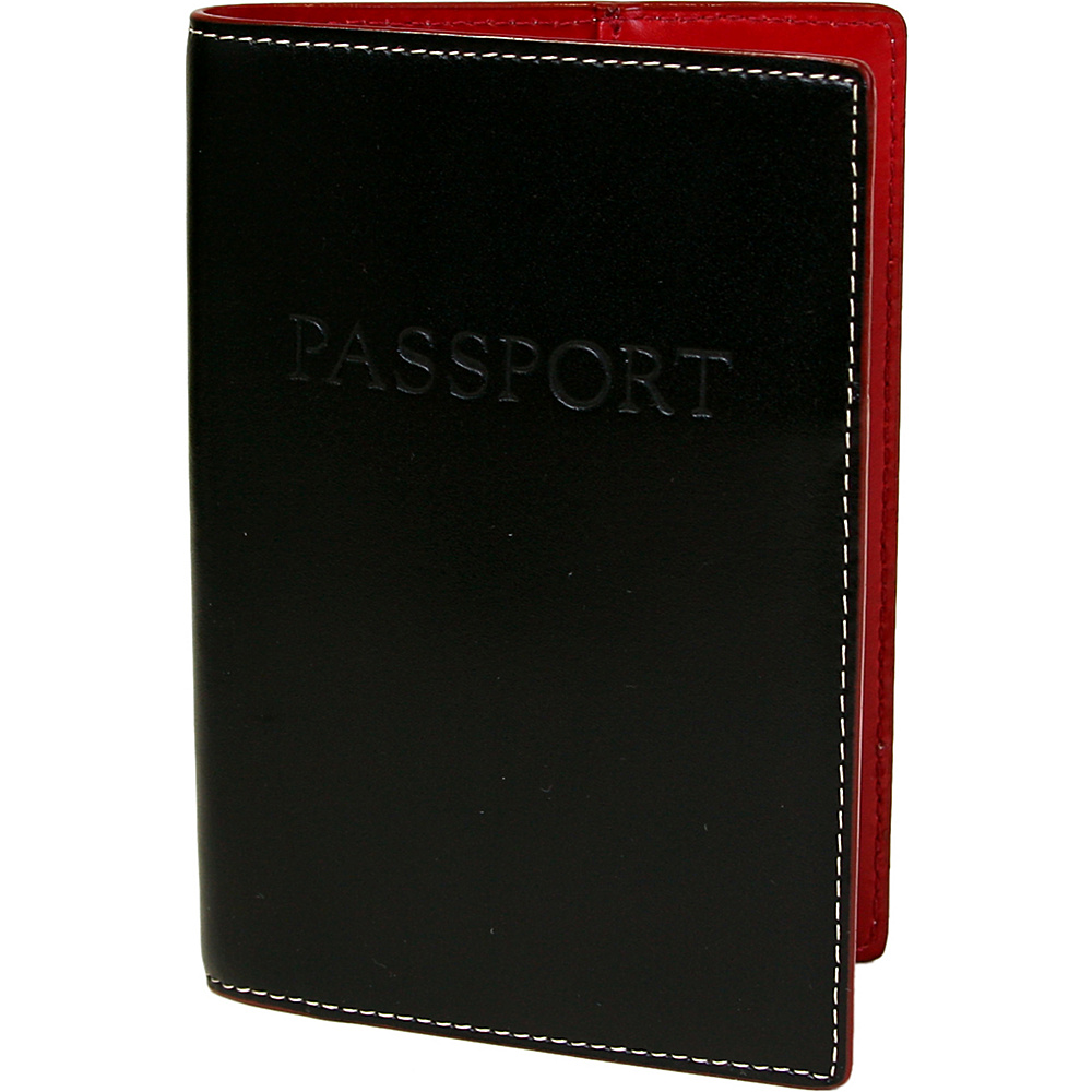 Lodis Audrey Passport Cover - Black - Travel Accessories, Travel Wallets