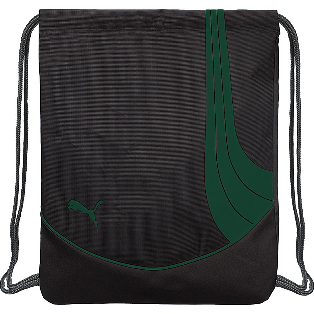Puma Teamsport Formation Carrysack Black/Green - Puma Everyday Backpacks