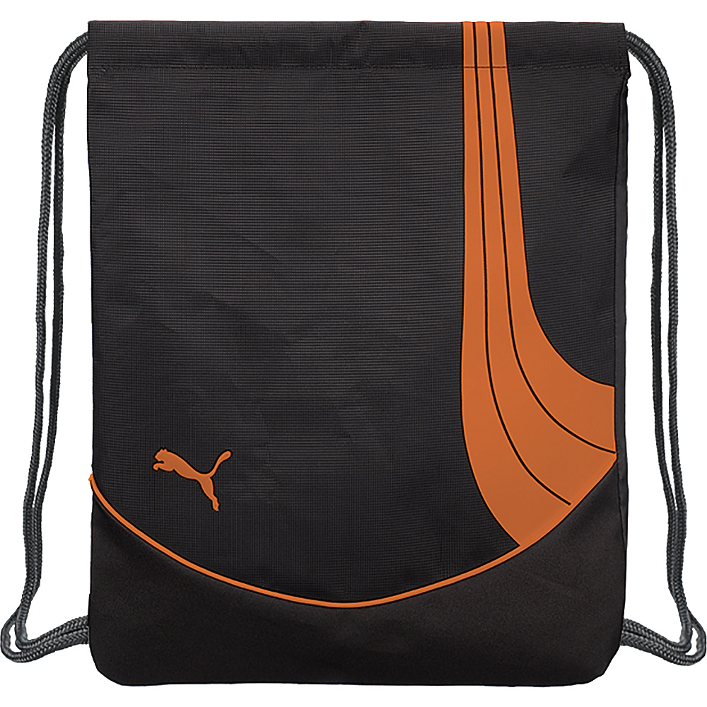 Puma Teamsport Formation Carrysack Black/Orange - Puma Everyday Backpacks