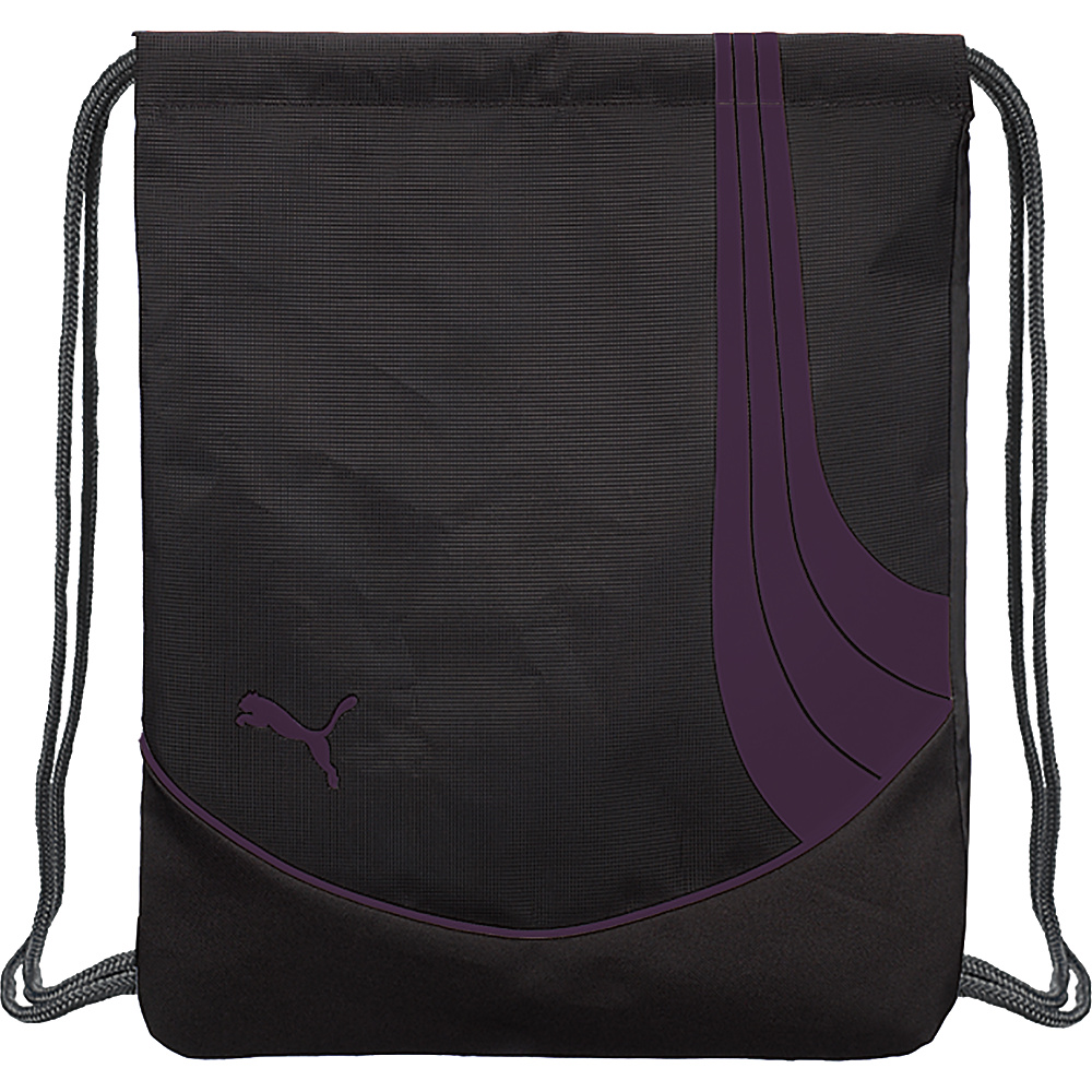 Puma Teamsport Formation Carrysack Black/Purple - Puma Everyday Backpacks