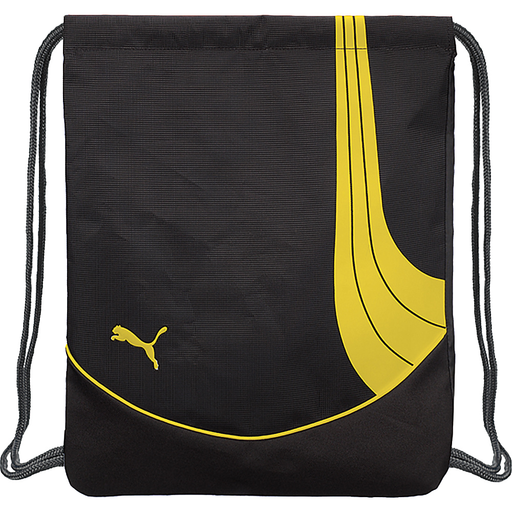 Puma Teamsport Formation Carrysack Black/Yellow - Puma Everyday Backpacks