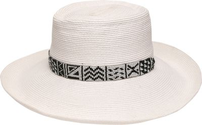 Ale by Alessandra Cimarron Hat One Size - White - Ale by Alessandra Hats/Gloves/Scarves