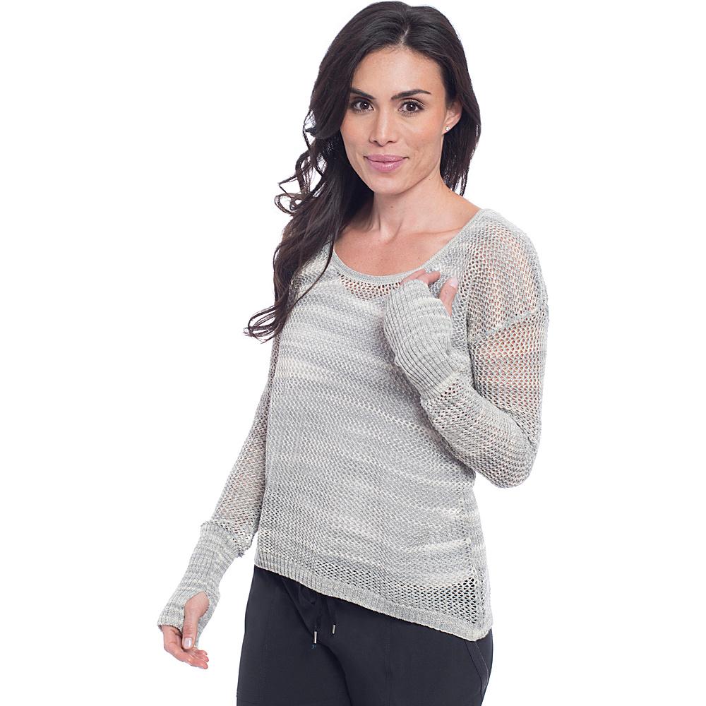 Soybu Gigi Pullover L - Storm - Soybu Womens Apparel - Apparel & Footwear, Women's Apparel