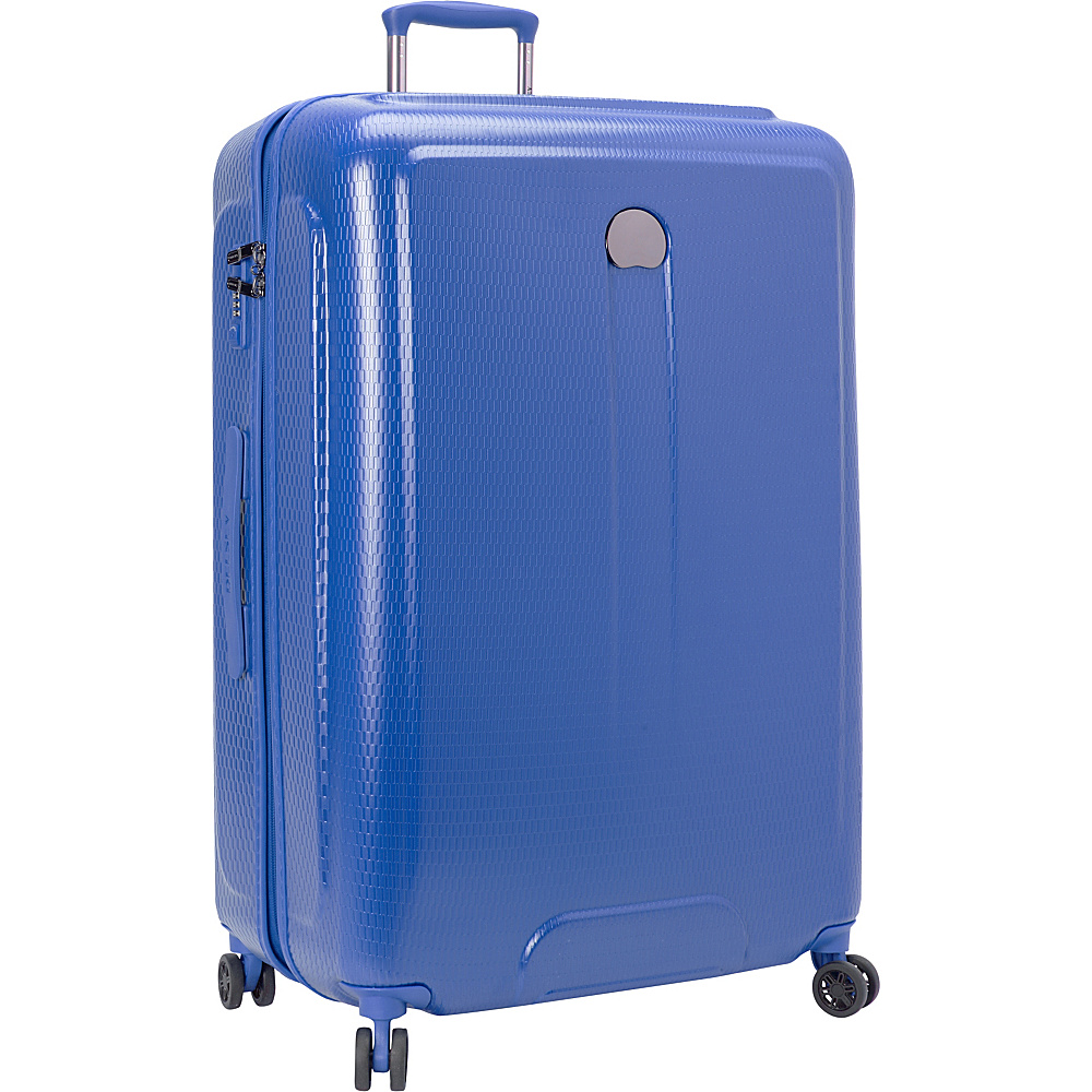 Delsey Embleme 30 Spinner Trolley Royal Blue Delsey Hardside Checked