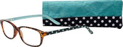 Select-A-Vision Victoria Klein Reading Glasses +2.50 - Blue Dot - Select-A-Vision Sunglasses