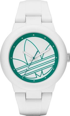 Image of adidas originals Watches Aberdeen Three Hand Silicone Watch White - adidas originals Watches Watches