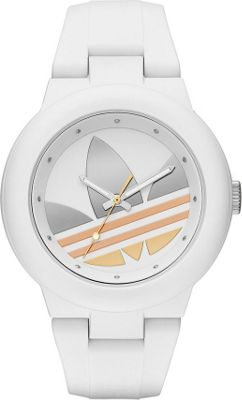 adidas watches Aberdeen Three Hand Silicone Watch White - adidas watches Watches