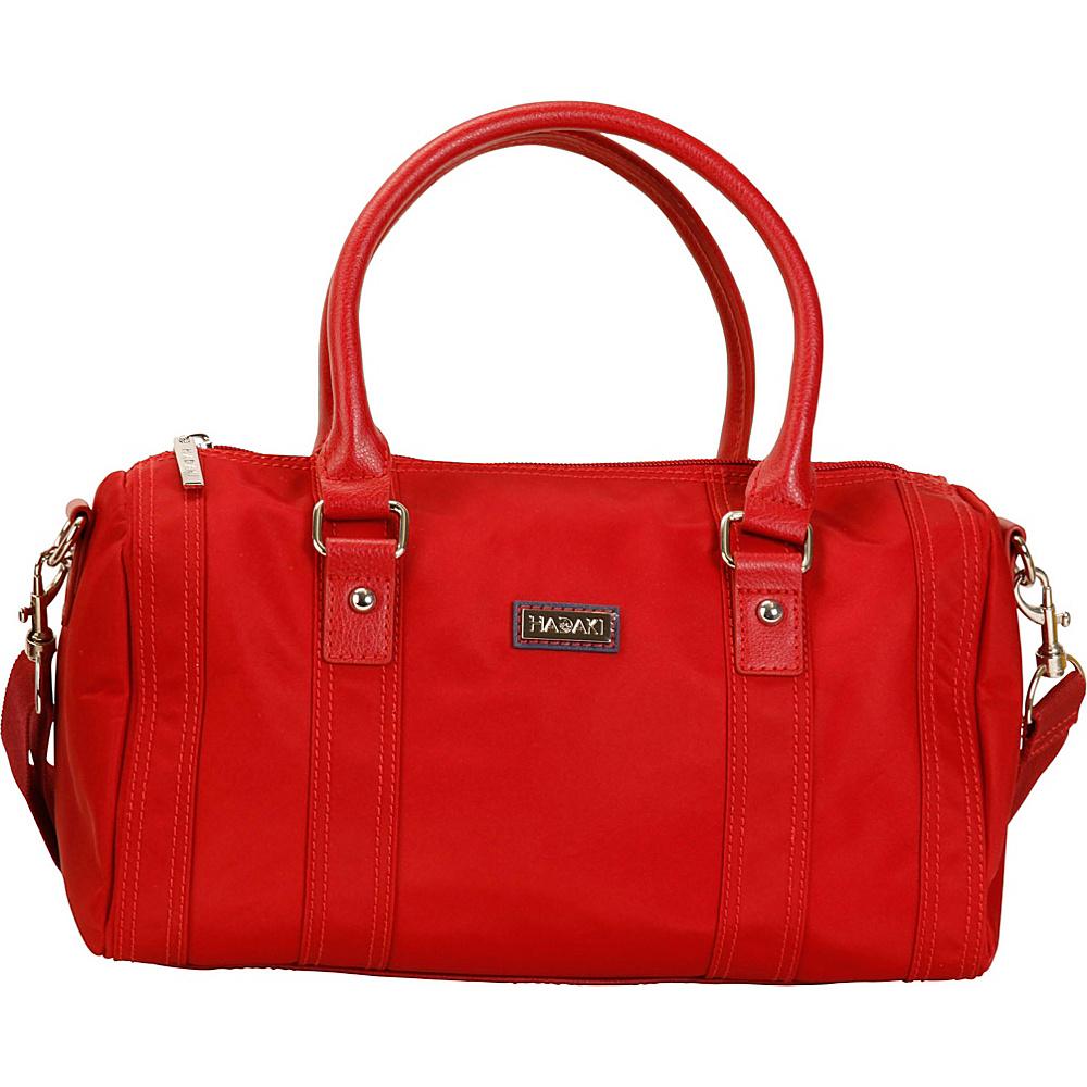 Hadaki NOLA Duffle Rhubarb - Hadaki Fabric Handbags - Handbags, Fabric Handbags