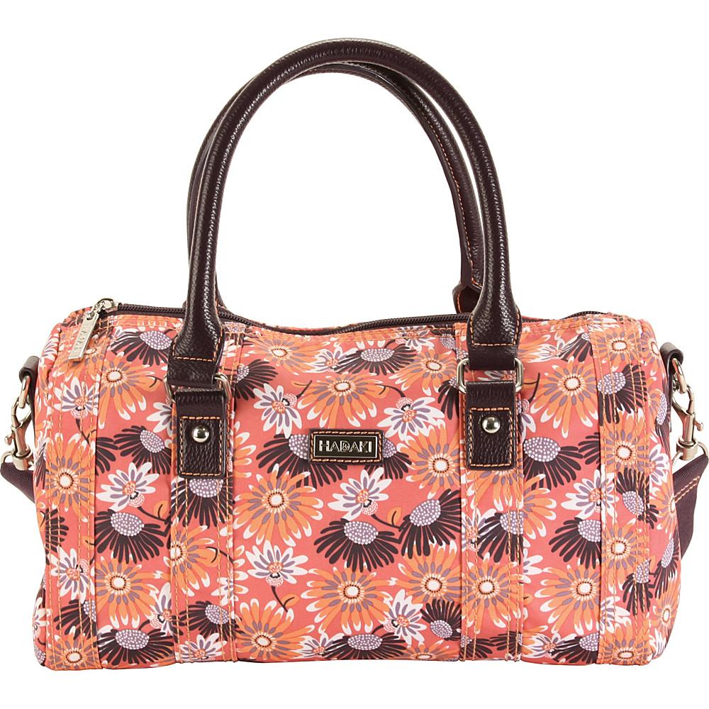 Hadaki NOLA Duffle Daisies - Hadaki Fabric Handbags - Handbags, Fabric Handbags