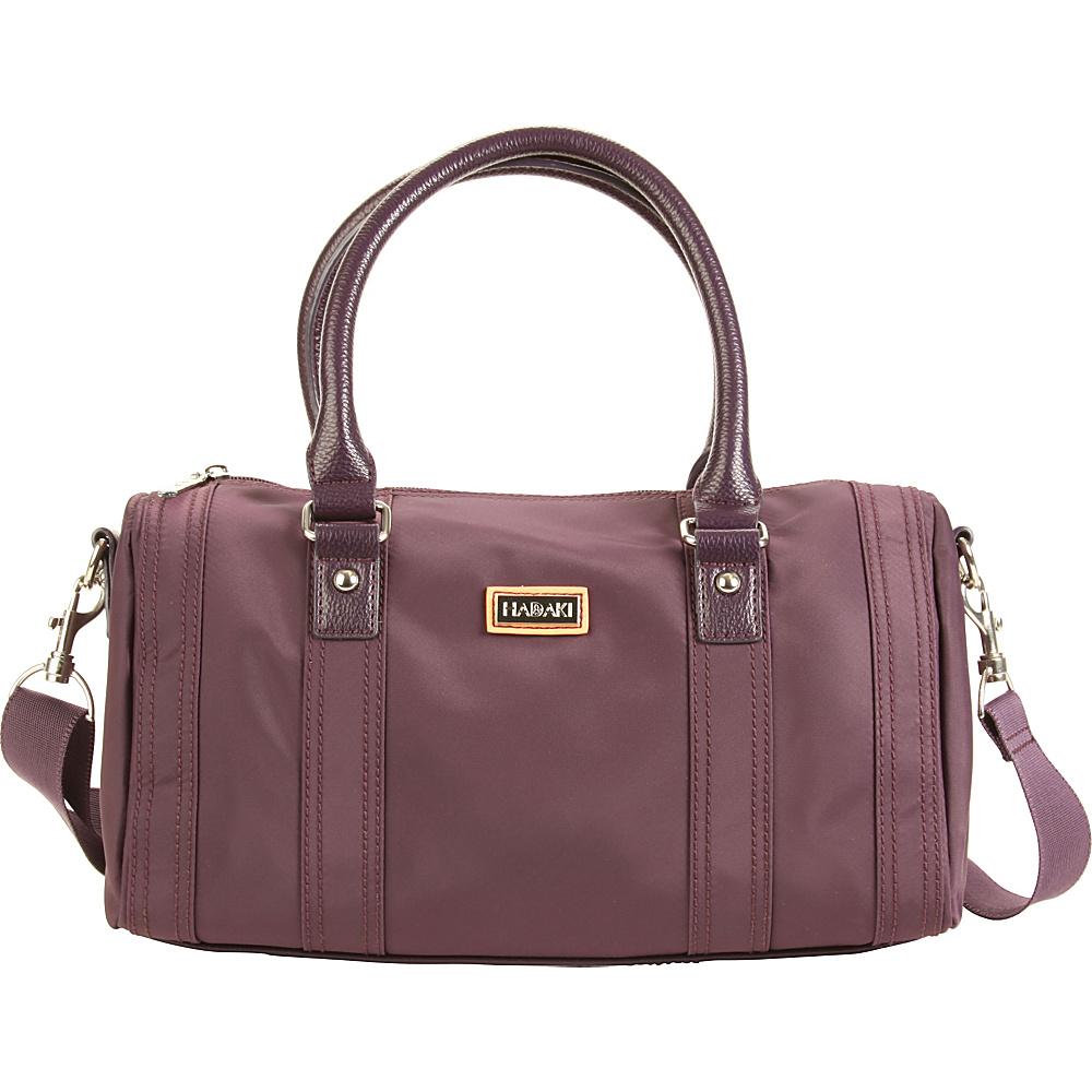 Hadaki NOLA Duffle Plum Perfect Solid - Hadaki Fabric Handbags - Handbags, Fabric Handbags