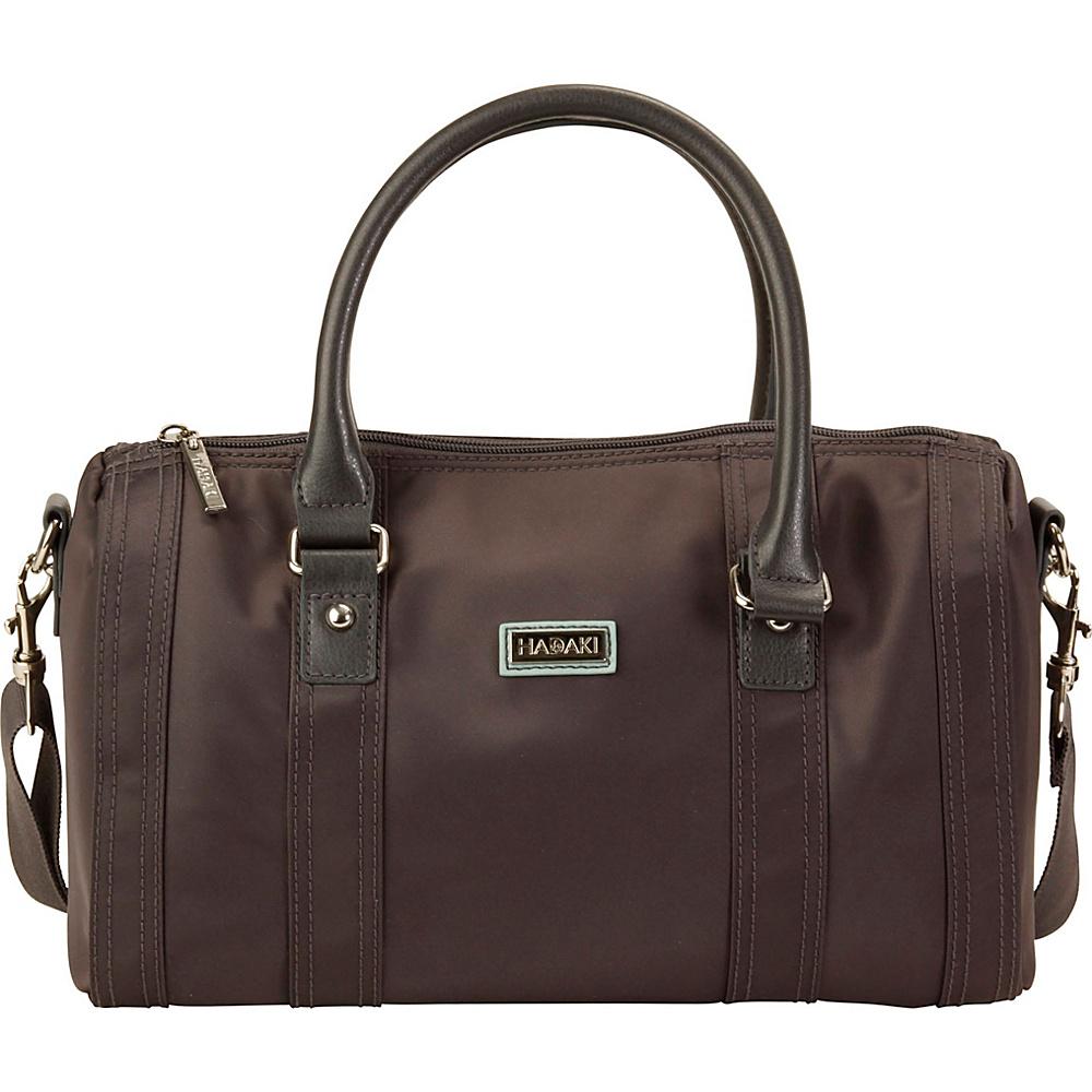 Hadaki NOLA Duffle Asphalt - Hadaki Fabric Handbags - Handbags, Fabric Handbags