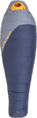Big Agnes Boot Jack 25 600 DownTek Sleeping Bag Navy/Flint - Regular Left - Big Agnes Outdoor Accessories