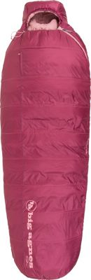Big Agnes Big Agnes Slavonia 30 Insotect Hot Stream Sleeping Bag Rose - Petite Right - Big Agnes Outdoor Accessories