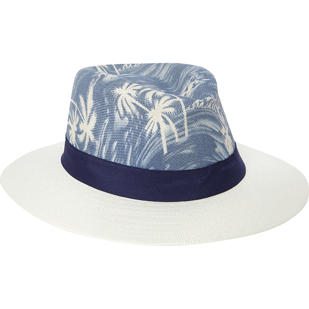 Caribbean Joe Accessories Burmuda Shores White - Caribbean Joe Accessories Hats/Gloves/Scarves
