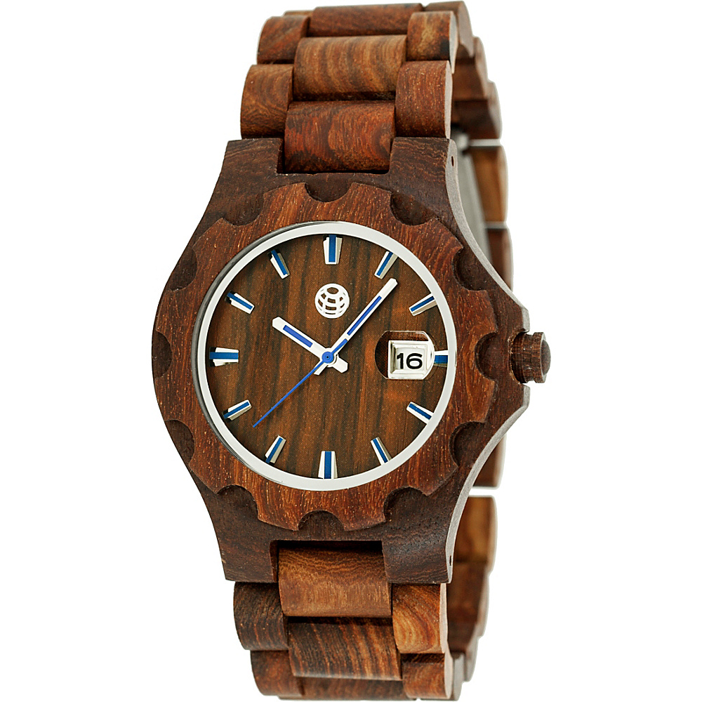 Earth Wood Gila Wood Unisex Watch Red Earth Wood Watches