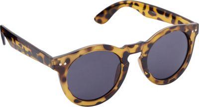 POP Fashionwear Classic Vintage Fashion Round Sunglasses Tortoise/Smoke Lens - POP Fashionwear Sunglasses