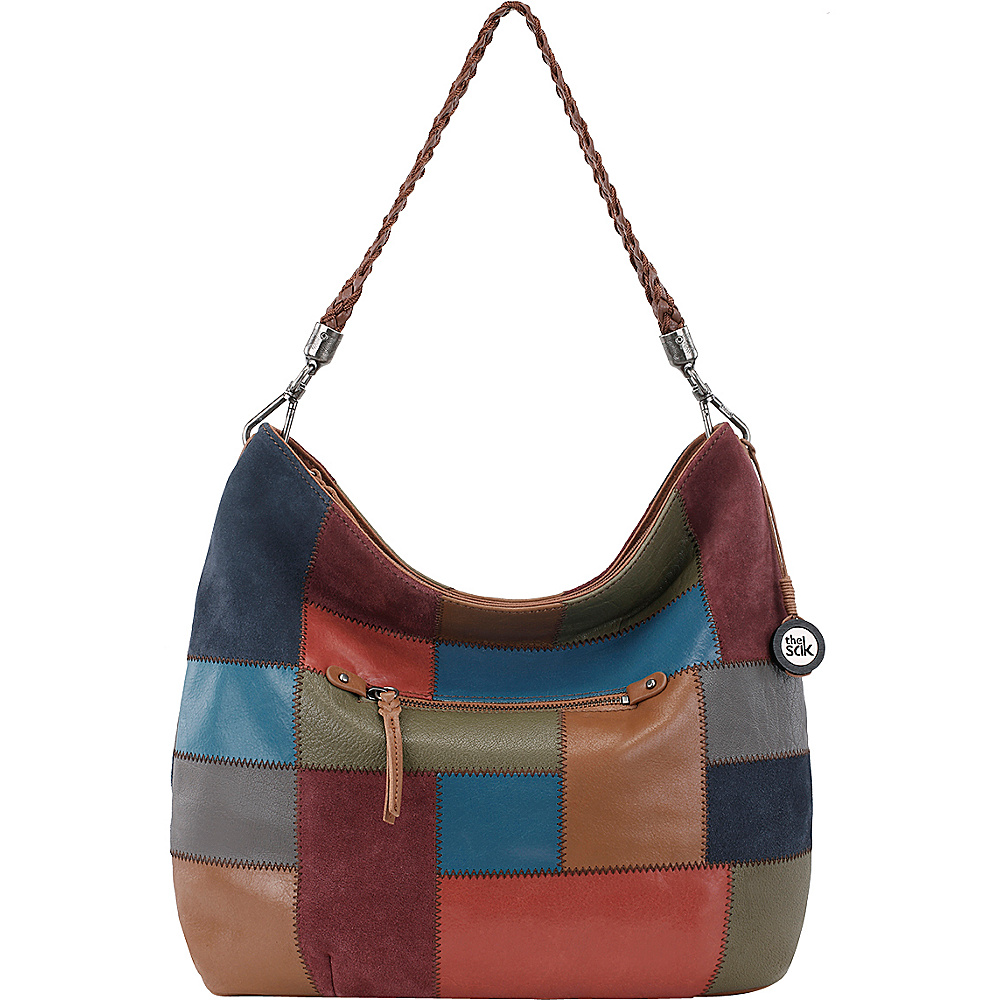 The Sak Indio Hobo Multi Patch The Sak Leather Handbags