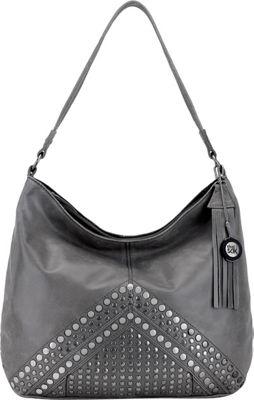 The Sak Indio Hobo Slate Studs - The Sak Leather Handbags