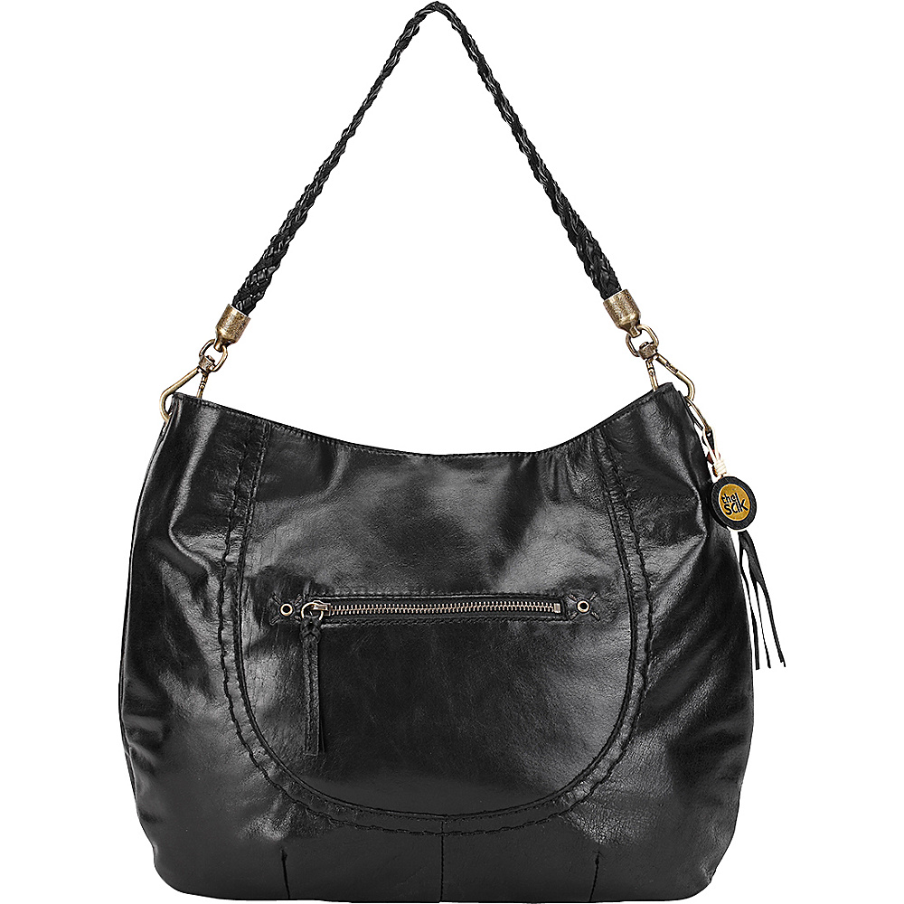 The Sak Indio Hobo Black The Sak Leather Handbags