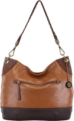 The Sak Indio Hobo Teak Block - The Sak Leather Handbags