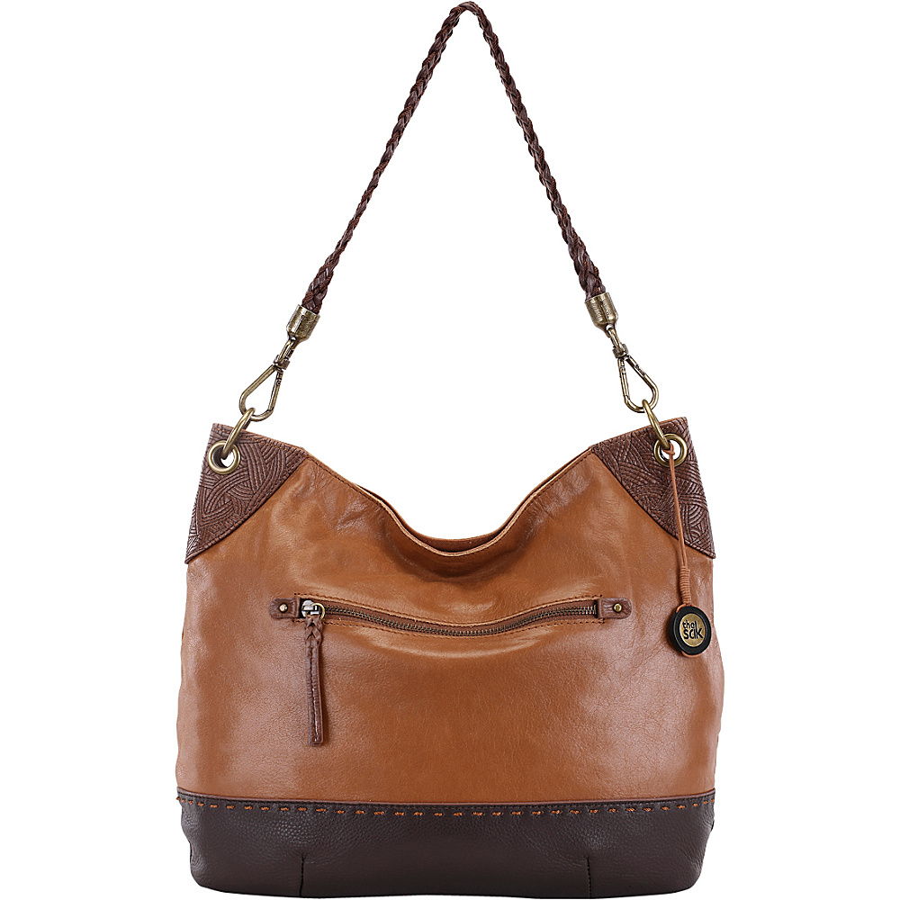 The Sak Indio Hobo Teak Block The Sak Leather Handbags