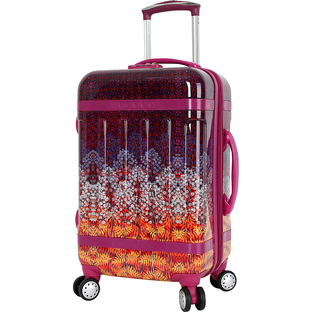 J World New York Taqoo Polycarbonate Carry on Art Luggage Dusk - J World New York Hardside Carry-On - Luggage, Hardside Carry-On