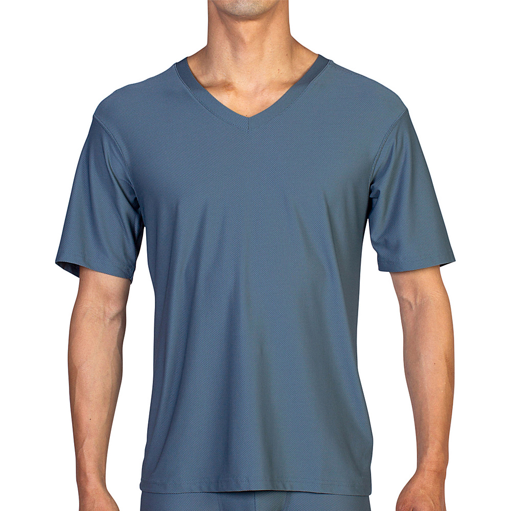 ExOfficio Give-N-Go V S - Charcoal - ExOfficio Mens Apparel - Apparel & Footwear, Men's Apparel