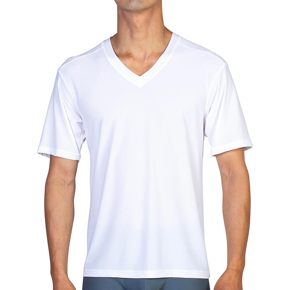 ExOfficio Give-N-Go V 2XL - White - ExOfficio Mens Apparel - Apparel & Footwear, Men's Apparel