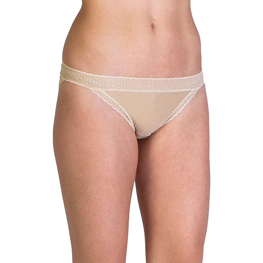 ExOfficio Give-N-Go Lacy Low Rise Bikini Brief S - Nude - ExOfficio Womens Apparel - Apparel & Footwear, Women's Apparel