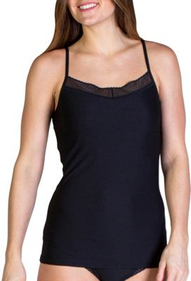 ExOfficio Give-N-Go Lacy Shelf Bra Camisole M - Black - ExOfficio Women's Apparel