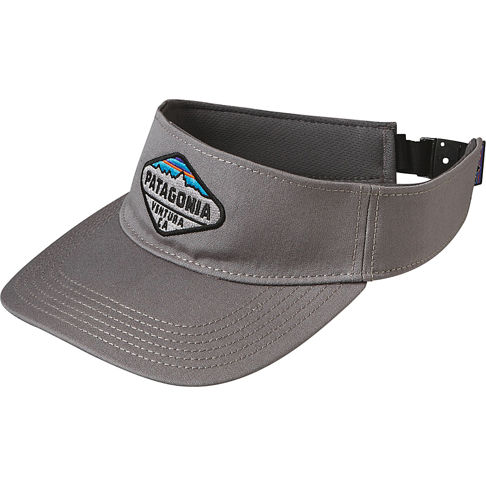 Patagonia Fitz Roy Crest Visor Feather Grey Patagonia Hats Gloves Scarves
