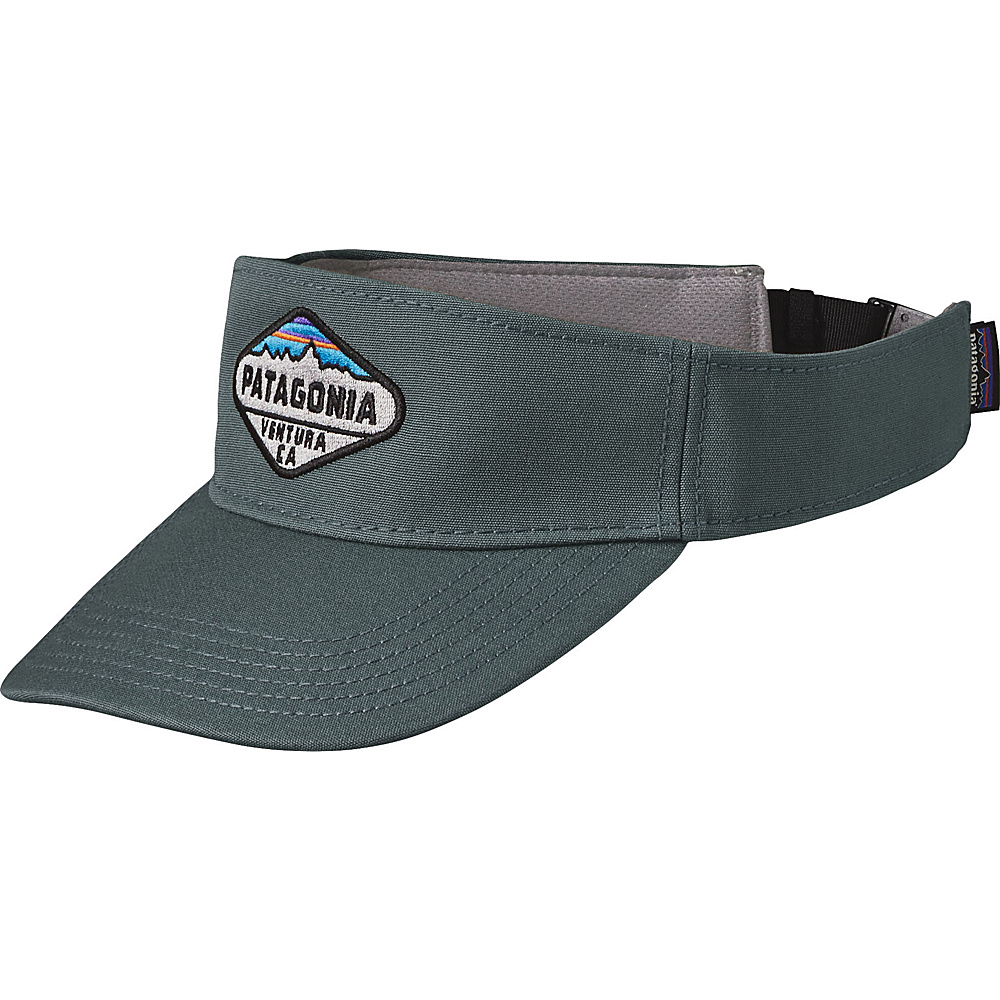 Patagonia Fitz Roy Crest Visor One Size - Nouveau Green - Patagonia Hats/Gloves/Scarves - Fashion Accessories, Hats/Gloves/Scarves