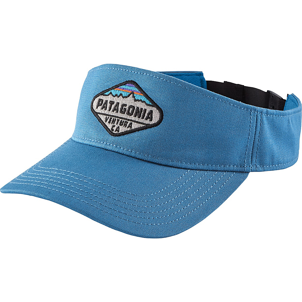 Patagonia Fitz Roy Crest Visor One Size - Radar Blue - Patagonia Hats/Gloves/Scarves - Fashion Accessories, Hats/Gloves/Scarves