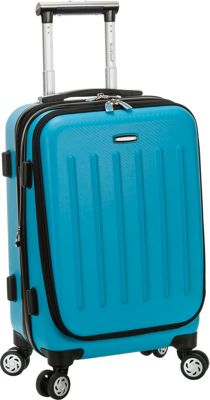 "Rockland Luggage Titan 19"" ABS Spinner Carry On 5 Colors ..."