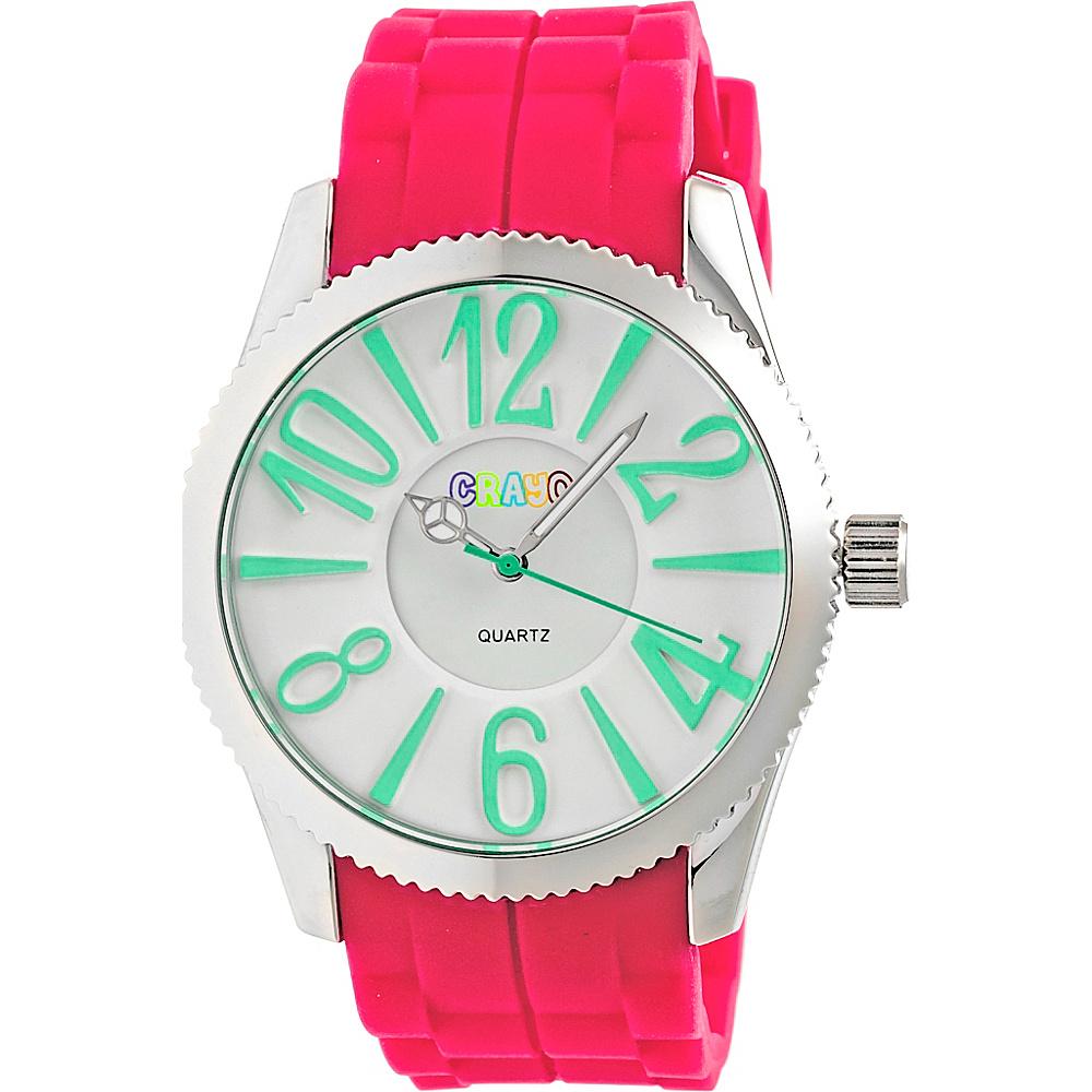 Crayo Magnificent Ladies Watch Hot Pink Crayo Watches