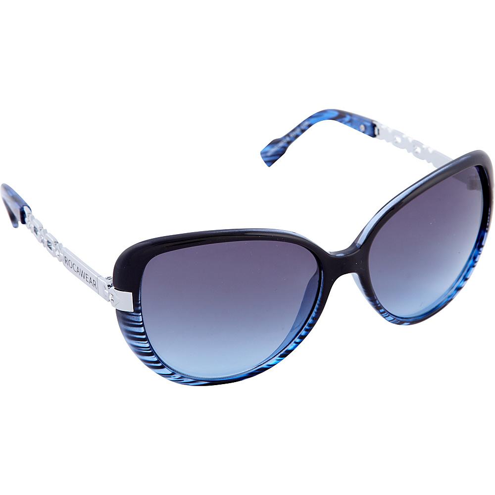 Rocawear Sunwear R3198 Women s Sunglasses Black Blue Rocawear Sunwear Sunglasses