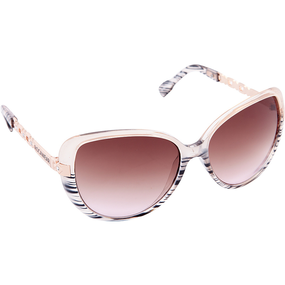 Rocawear Sunwear R3198 Women's Sunglasses Brown Rose - Rocawear Sunwear Sunglasses