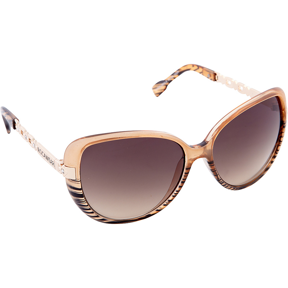 Rocawear Sunwear R3198 Women's Sunglasses Tan Grey - Rocawear Sunwear Sunglasses