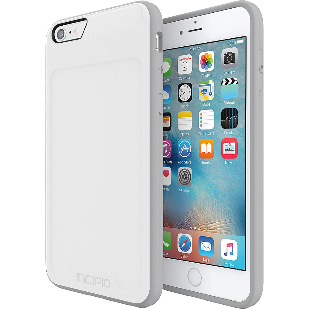 Incipio Performance Series Level 2 for iPhone 6 Plus / 6s Plus White/LightGray - Incipio Electronic Cases - Technology, Electronic Cases