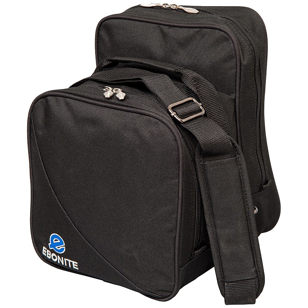 Ebonite Compact Shoulder Tote Black Ebonite Bowling Bags