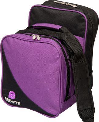 Ebonite Compact Shoulder Tote Purple - Ebonite Bowling Bags