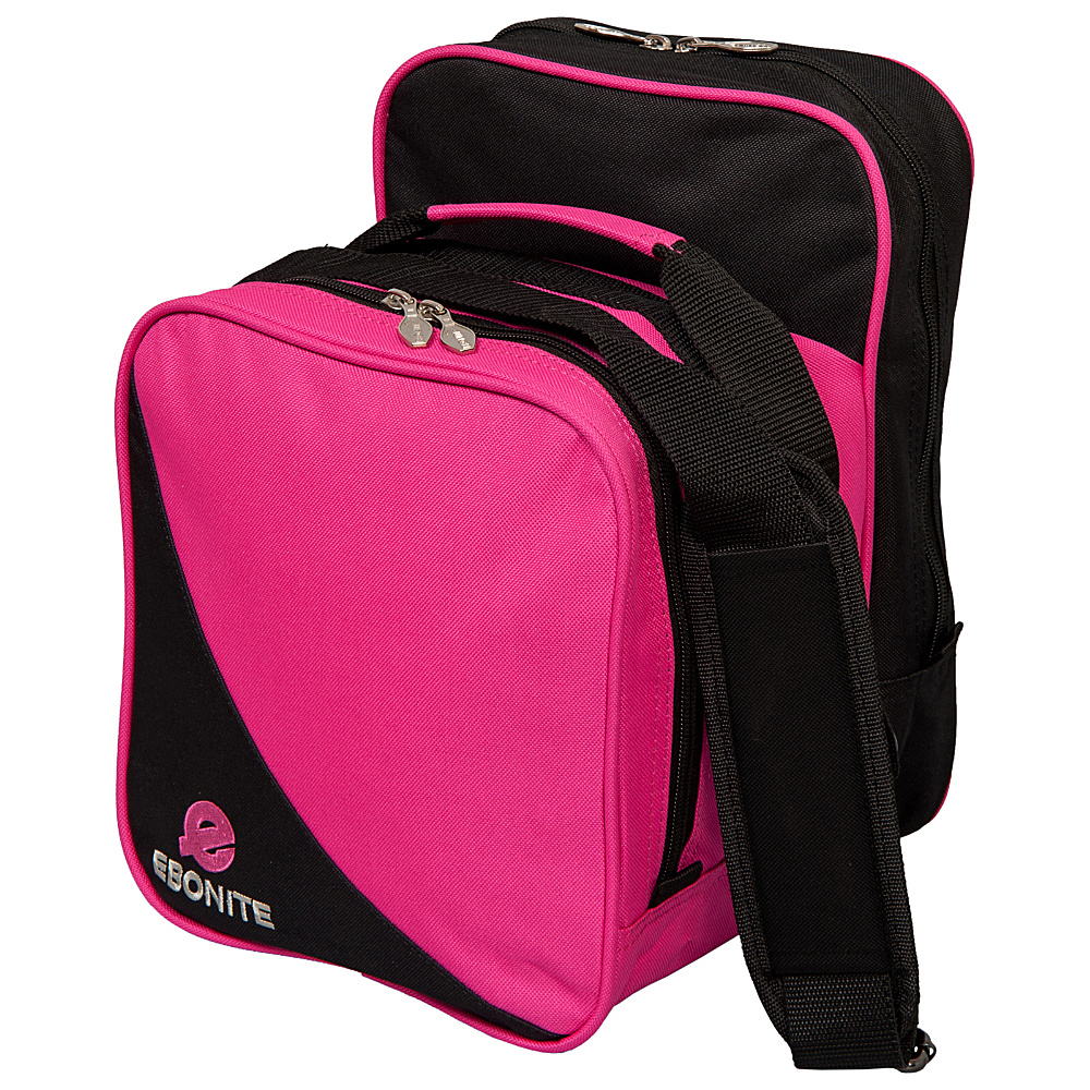 Ebonite Compact Shoulder Tote Pink Ebonite Bowling Bags